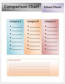 Comparison Chart Template 10