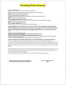 Consulting proposal template 01