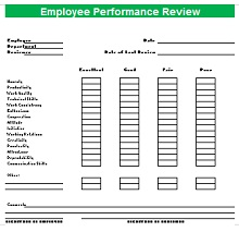 Employee Performance Review 04