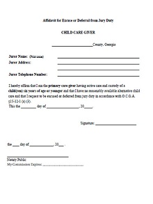 Sample Letter Asking To Be Excused From Jury Duty.40 Jury Duty Excuse Letters Guides Sample 2019 Excelshe