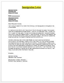 Immigration letter 05