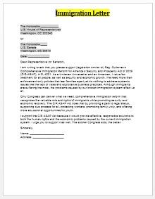 Immigration letter 06