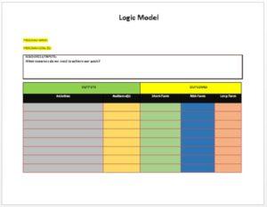 Logic Model Template 01