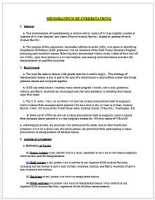 Memorandum of Understanding Template 03
