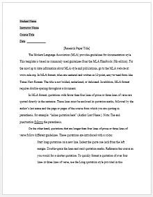 Mla format template 11