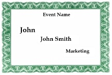 Name tag template 02