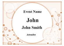 name tag design template