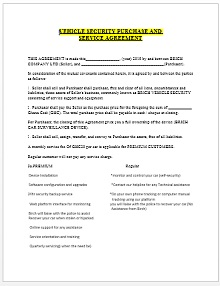 Vehicle purchase agreement 06