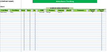 Employee attendance tracker 05