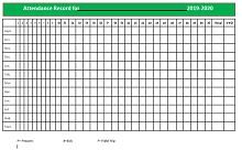 employee attendance sheet format in excel free download