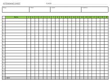 Employee attendance tracker 21