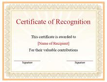 Certificate of Achievement Template 04