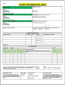 Client information Sheet 04