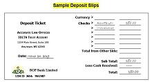 fake deposit slip generator