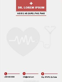 doctor letterhead, doctor letterhead pdf
