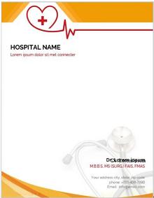 medical letterhead template, doctor letterhead template free word