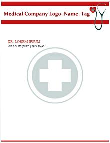 doctors letterhead, dental letterhead templates