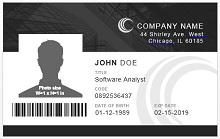 Employee ID template