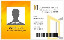 Employee ID templates