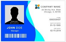 Download Employee ID template
