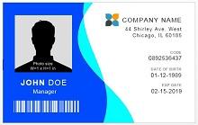 Employee ID template 03