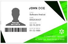 Employee ID template 04