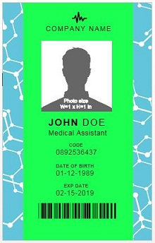 employee id card template psd free download