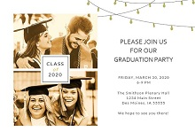 free graduation photo templates