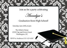 Graduation Invitation Template 16