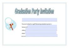 graduation announcement format