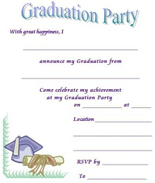 digital graduation announcements templates