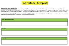 logic model builder