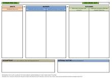 logic model examples social work