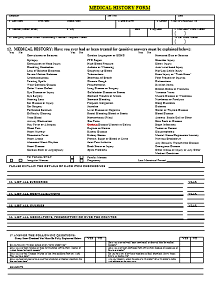 hospital forms pdf	, fake medical forms, medical records forms template