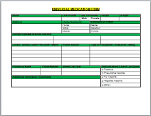 Free Prescription template