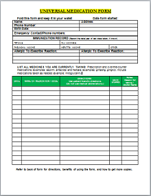 prescription pad example