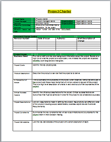 Project Charter Template 01