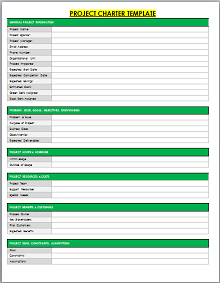 Project Charter Template 07