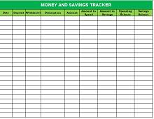 Savings goal tracker template 04