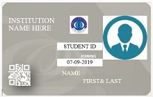 Student id template