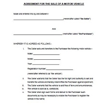 Vehicle purchase agreement 24