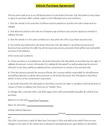 Vehicle purchase agreement 40