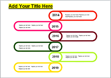 how to make a vertical timeline in word