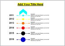 vertical timeline design