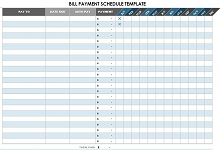 excel bill pay