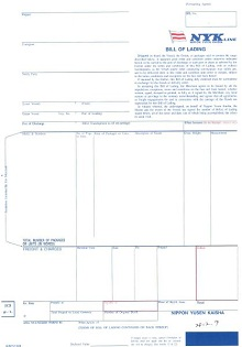 Bill of lading template 11