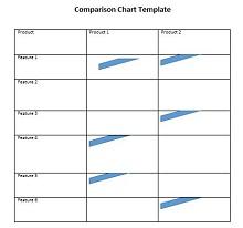 comparison chart design