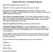 Consulting proposal template 12