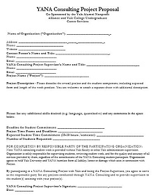 consulting proposal sample pdf