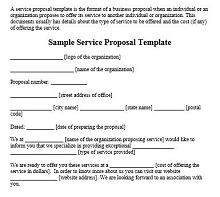service offering template